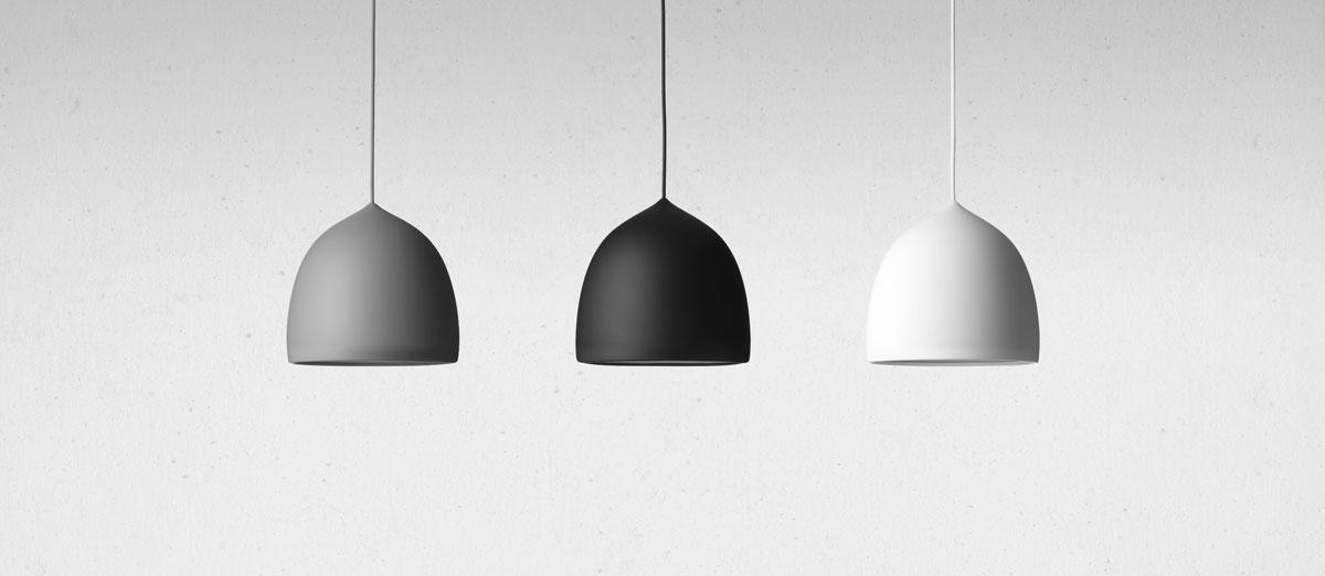 Lightyears Suspence P1 Pendel i grå, svart och vit av GamFratesi