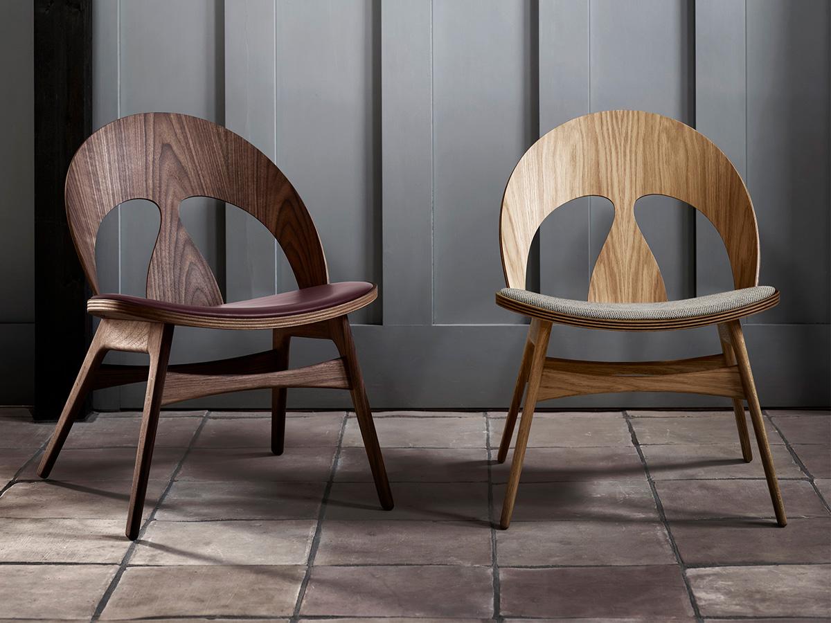 Den 70 år gamla fåtöljen Contour Chair av Børge Mogensen nylanseras