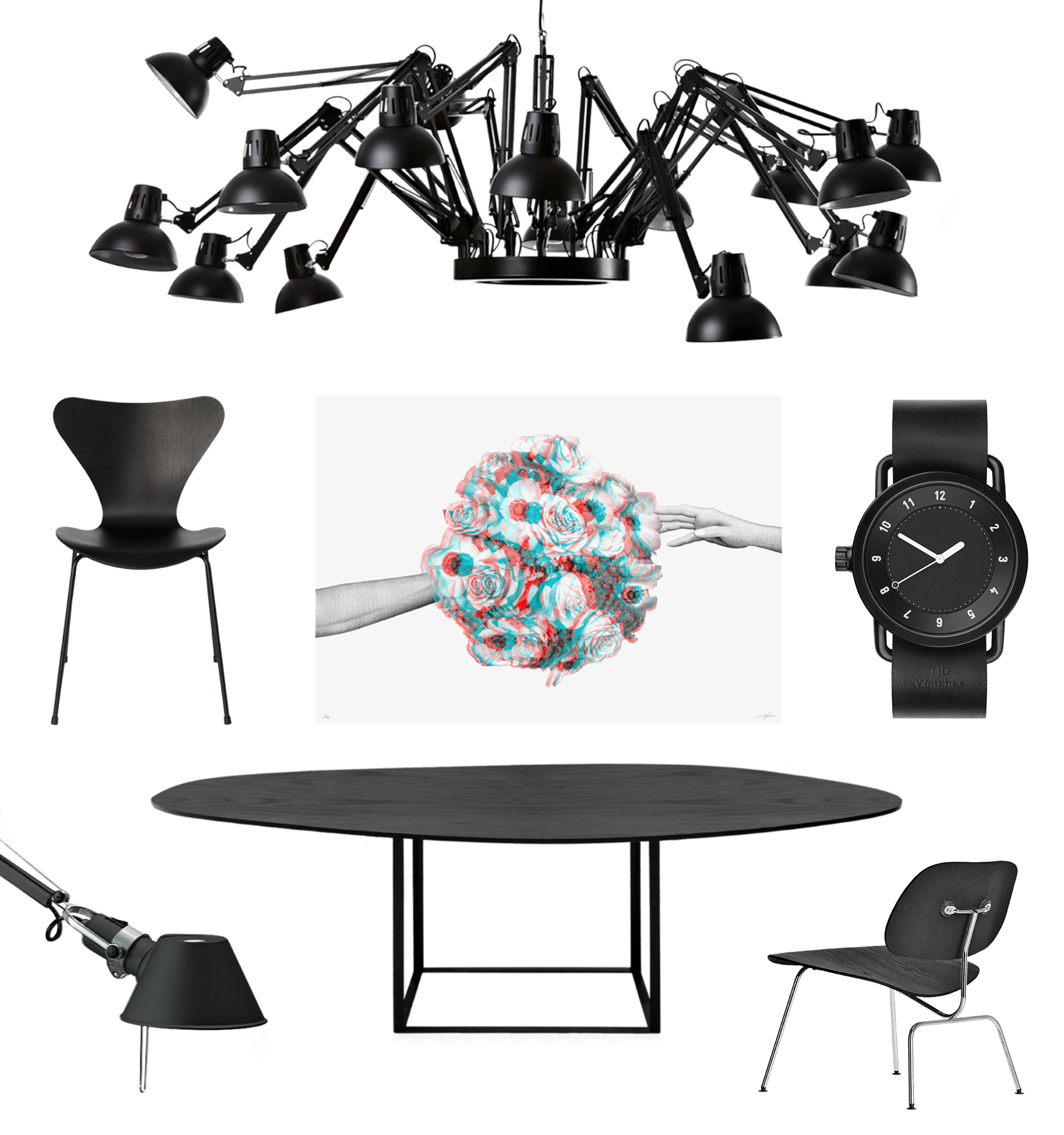 Dear Ingo Moooi Le Bouquet Carl-Eric Persson Sjuan Arne Jacobsen TID Watch Tolomeo Omni Max Gerthel LCM Eames