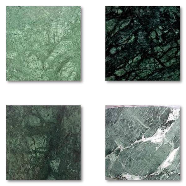 Naturmaterial som marmor varierar i både mönster och färg