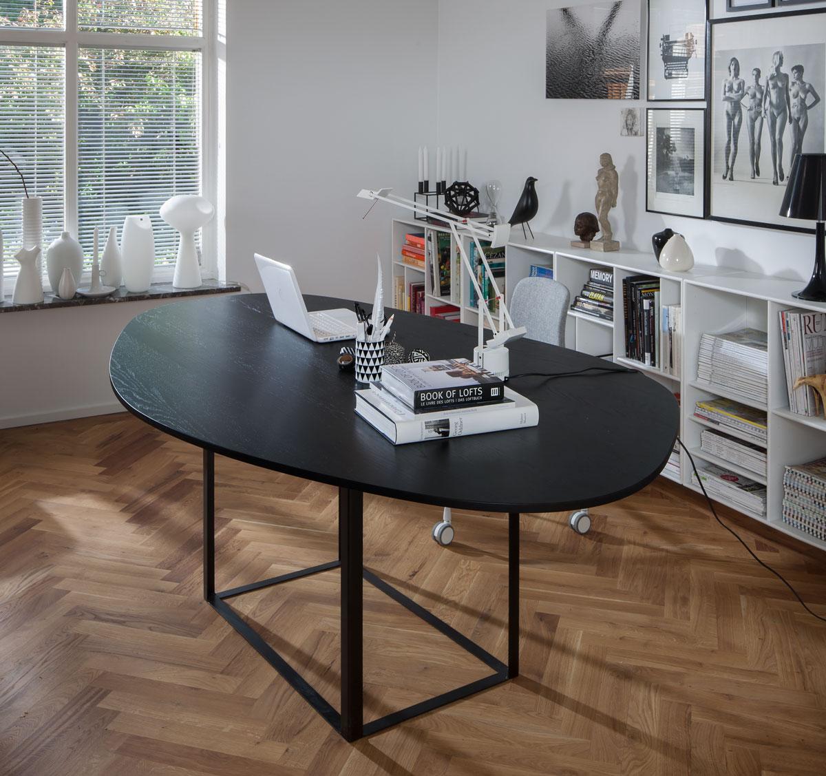 HAY About a Chair AAC51 Kontorsstol med Omni som skrivbord