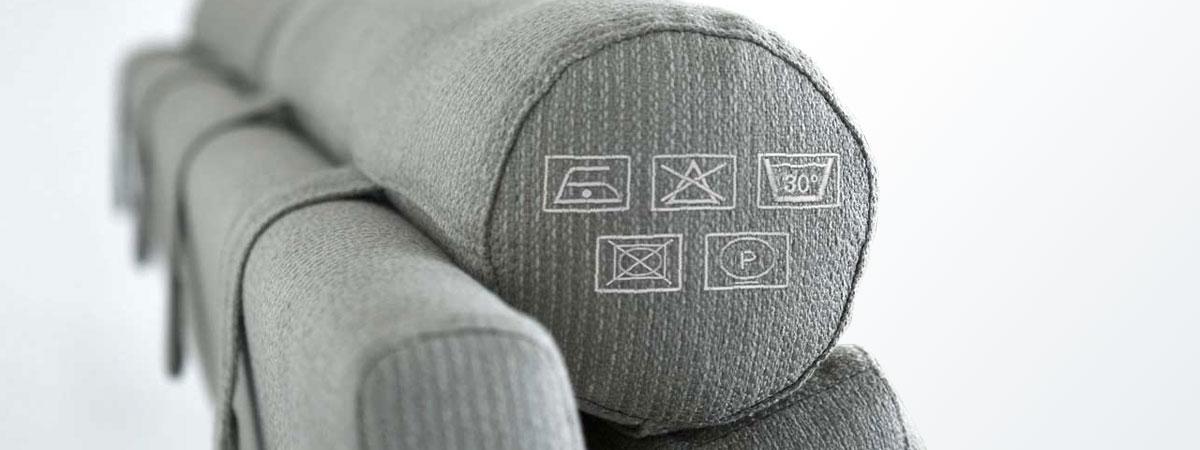 Tvättråd till tygklädd soffa