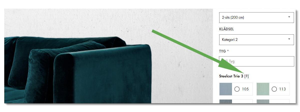 Materialguide: Tyg | Olsson & Gerthel