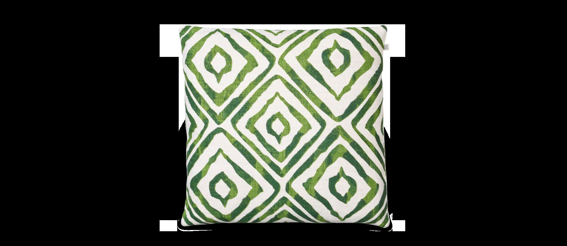 Amba är ett kuddfodral i grön färg från Chhatwal   Jonsson 3ed67190eac90