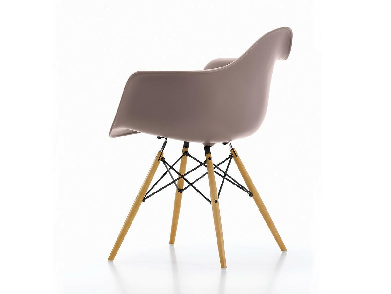 Topp Eames Plastic Armchair DAW Stol med ben i lönn | Olsson & Gerthel DL-23