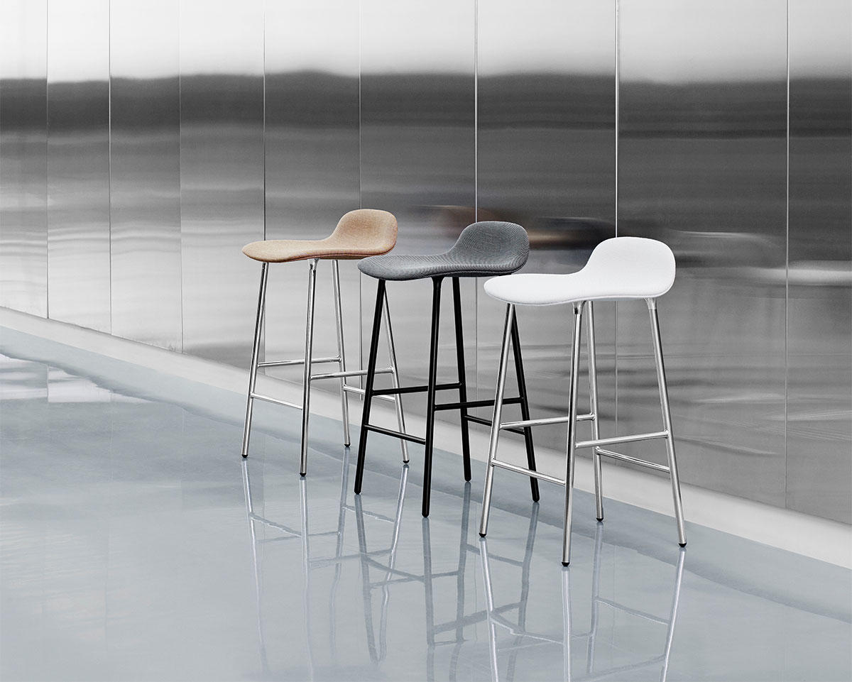 Form Chair barstol metallben Normann Copenhagen