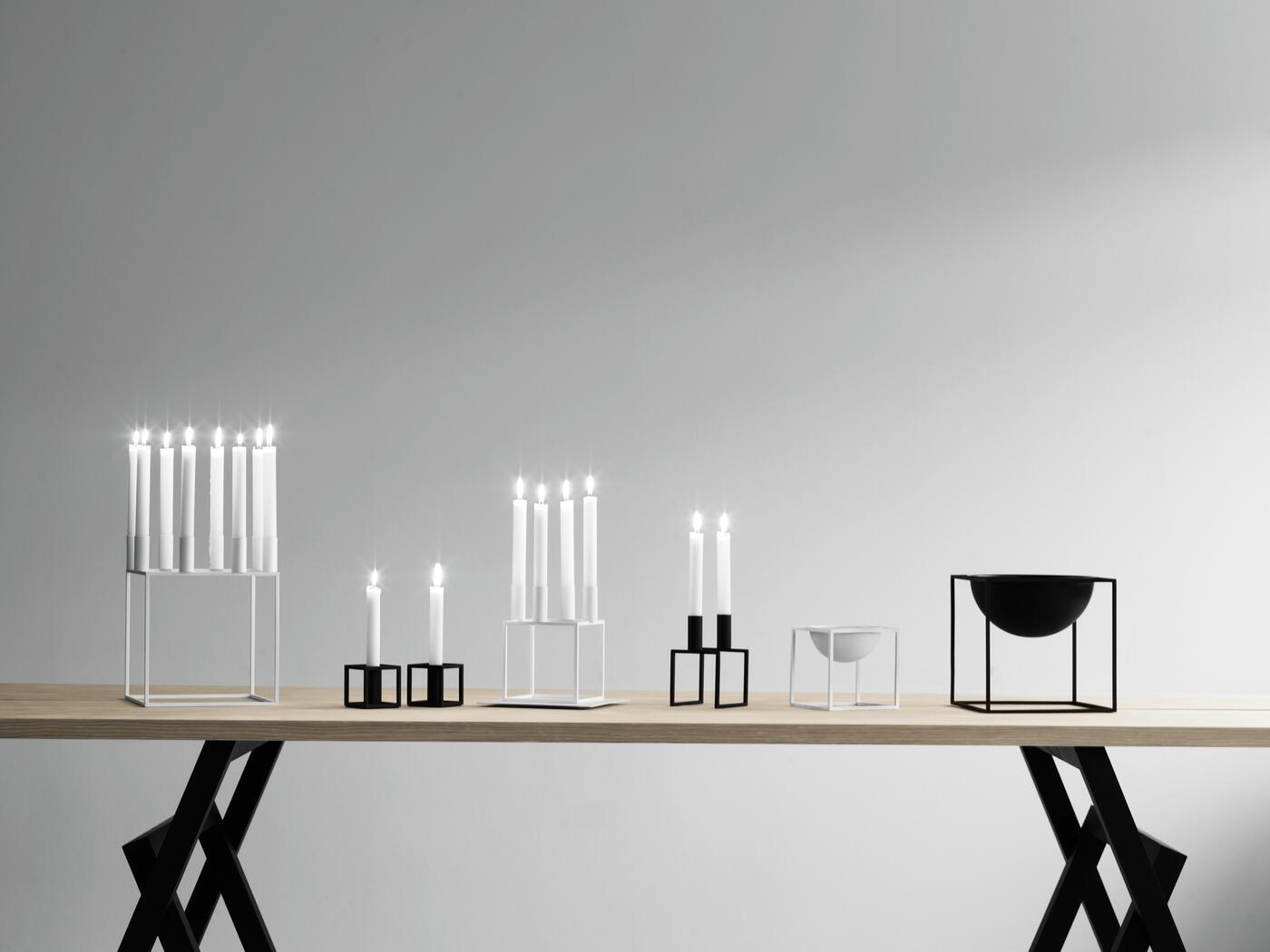 kubus ljusstake fr n by lassen olsson gerthel. Black Bedroom Furniture Sets. Home Design Ideas