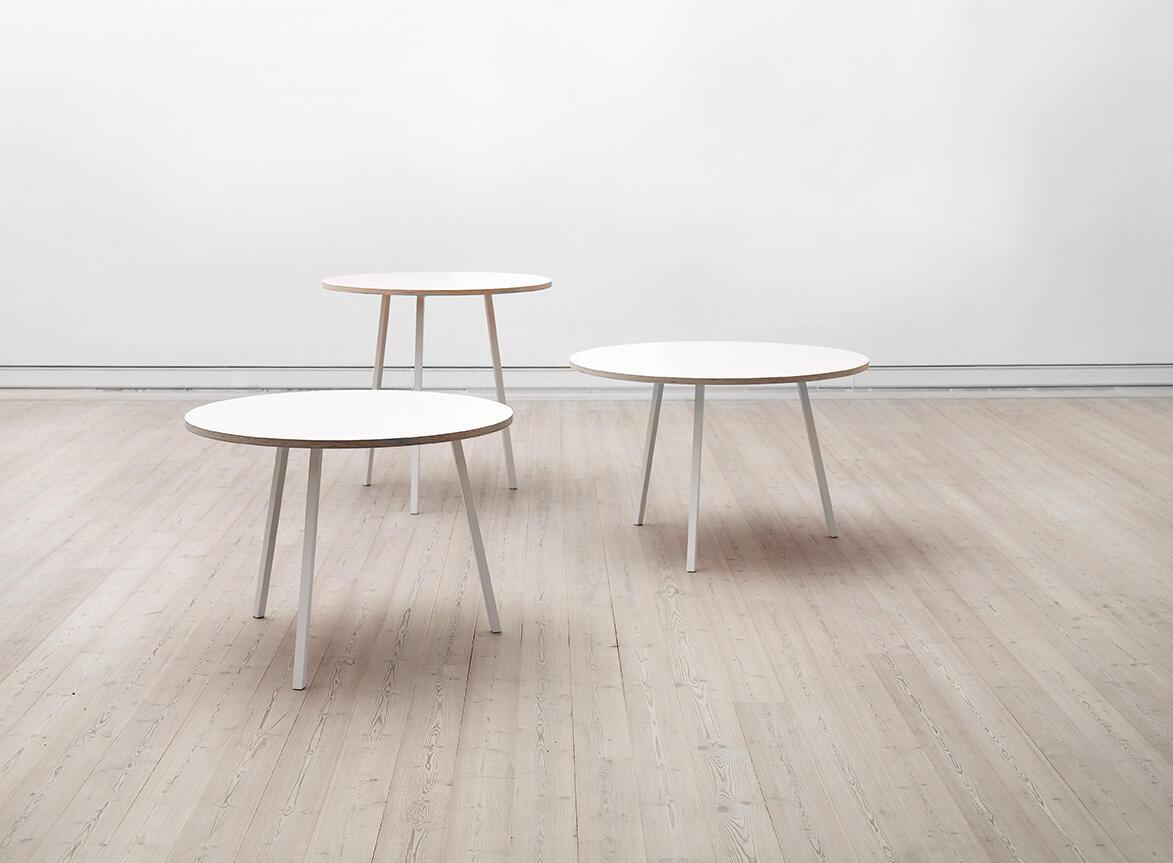 matbord hay Loop Stand Round Bord från HAY | Olsson & Gerthel matbord hay