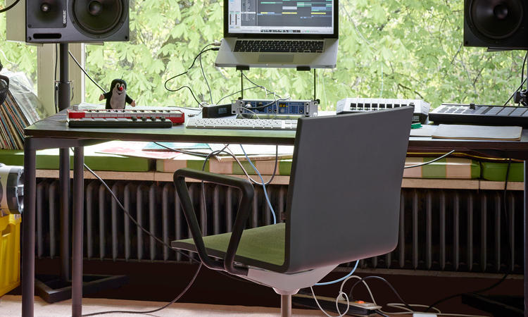 Vitra .04 Skrivbordsstol av Maarten Van Severen