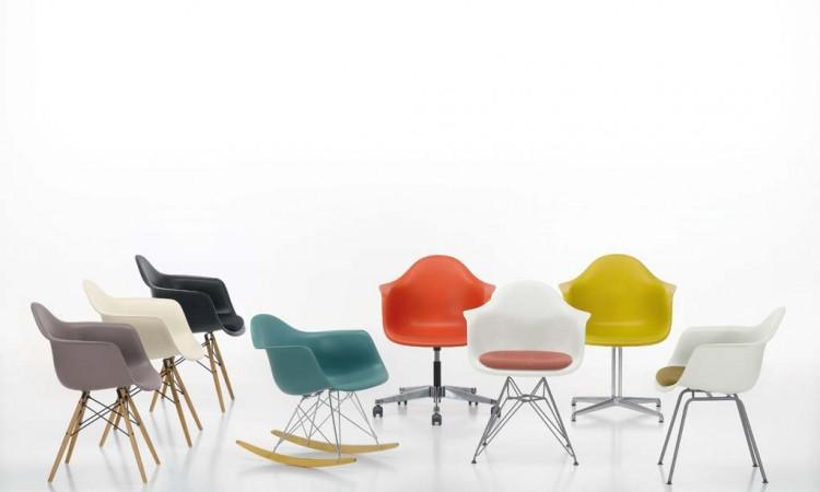 Du väljer din Eames-stol bland mängder av färger och modeller