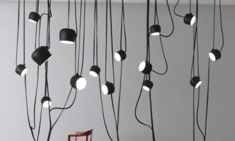Aim-lampan finns i tre olika färger