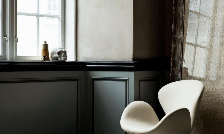 Fåtöljen Svanen av Arne Jacobsen från Fritz Hansen