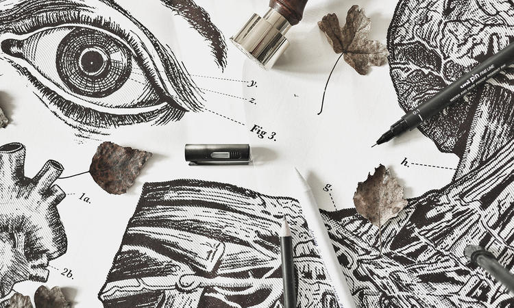 På Atelier Graphique lägger man enorm vikt vid detaljerna i sina posters
