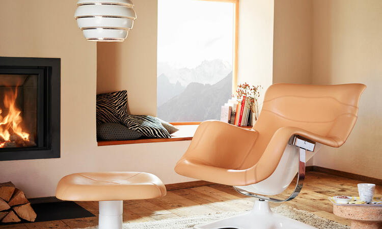 Artek Karuselli Lounge Chair Fåtölj och ottoman