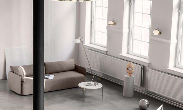 Astep Model 237/1 Vägglampa Champagne