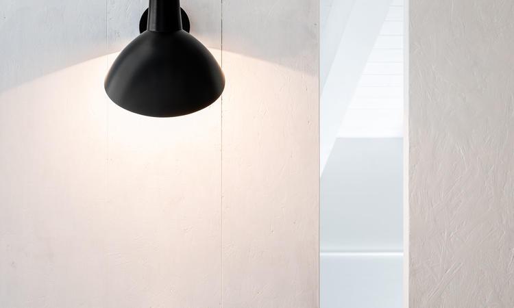Astep VV Cinquanta Vägglampa svart/svart