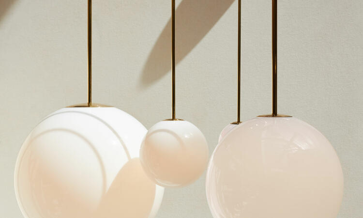 Michael Anastassiades Brass Architectural Collection Pendant 80