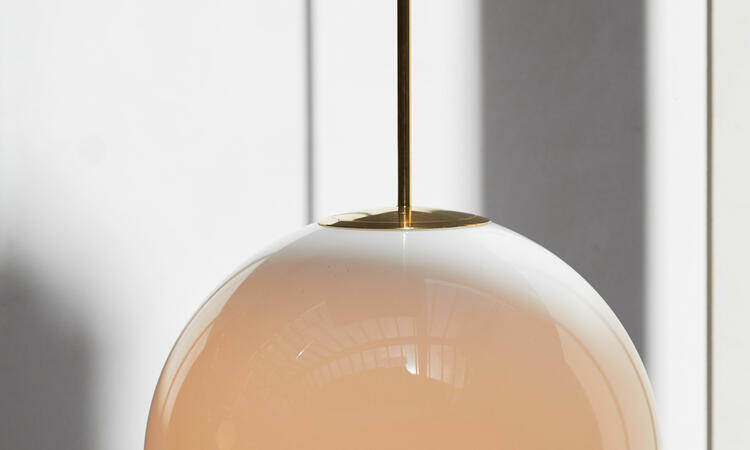 Michael Anastassiades Brass Architectural Collection Pendant 250