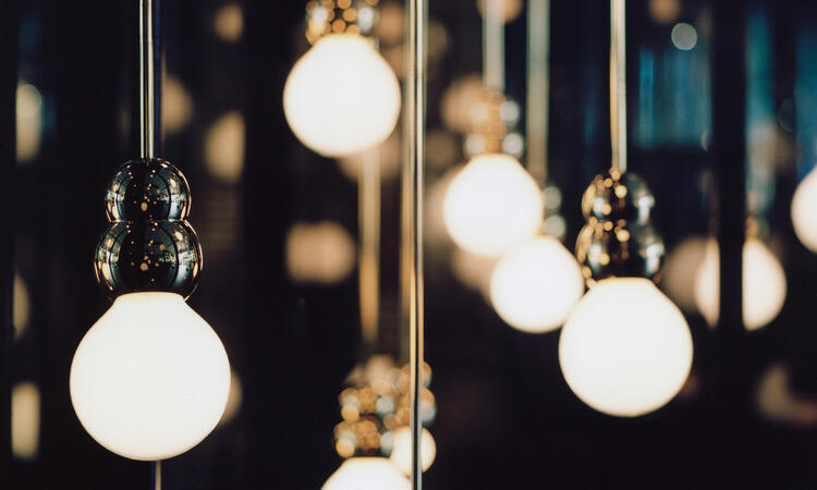 Michael Anastassiades Ball Lights Pendant Rod