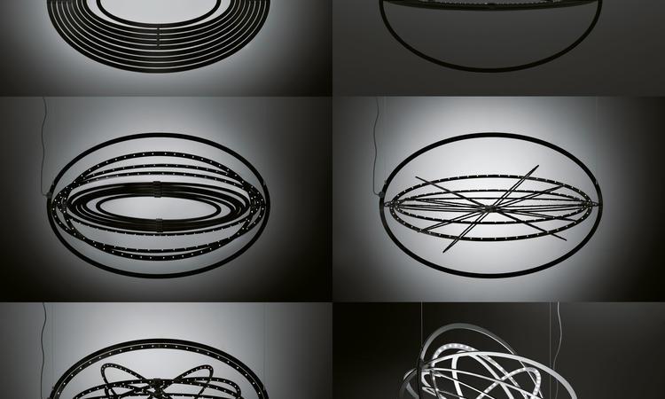 Artemide Copernico Pendel Svart
