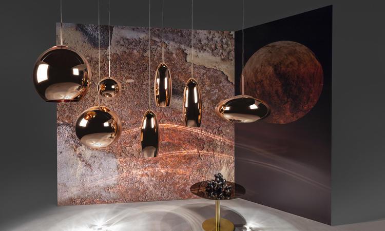Copper Pendant finns i tre helt unika formspråk