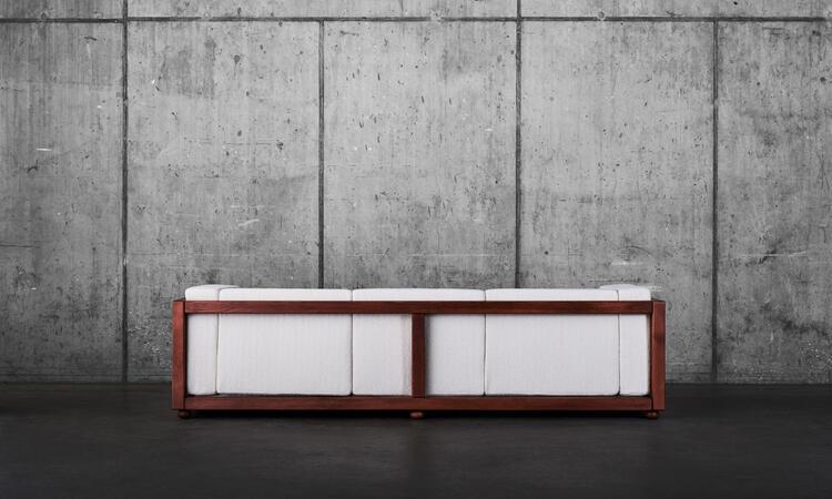 Dusty Deco Frame Soffa 3-sits