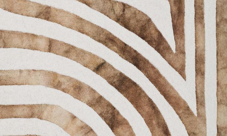 Dusty Deco DD Psychedelic Labyrinth Matta Beige