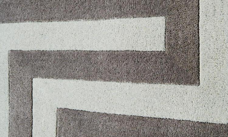 Dusty Deco DD Wool Labyrinth Beige Matta