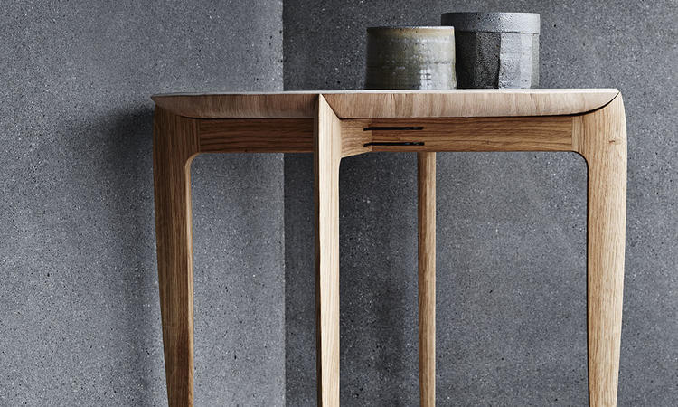 Fritz Hansen Objects Tray Table bord i ek