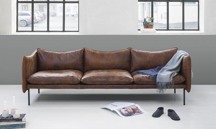 Köp soffan Tiki från Fogia med fri frakt i tyg eller läder på Olsson & Gerthel
