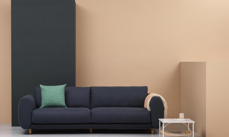 Modern soffa för alla familjer