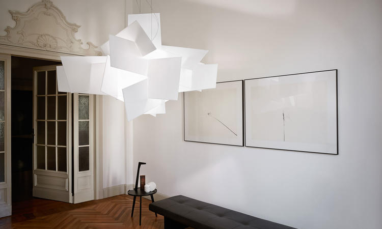 Foscarini Big Bang Large Pendel Vit