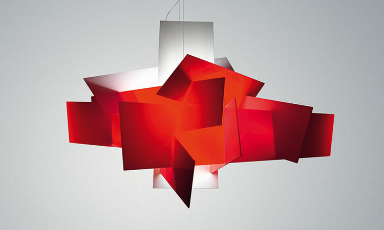 Foscarini Big Bang Pendel Röd