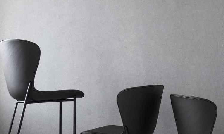 Snygg stol med design av Ida Linea Hildebrand