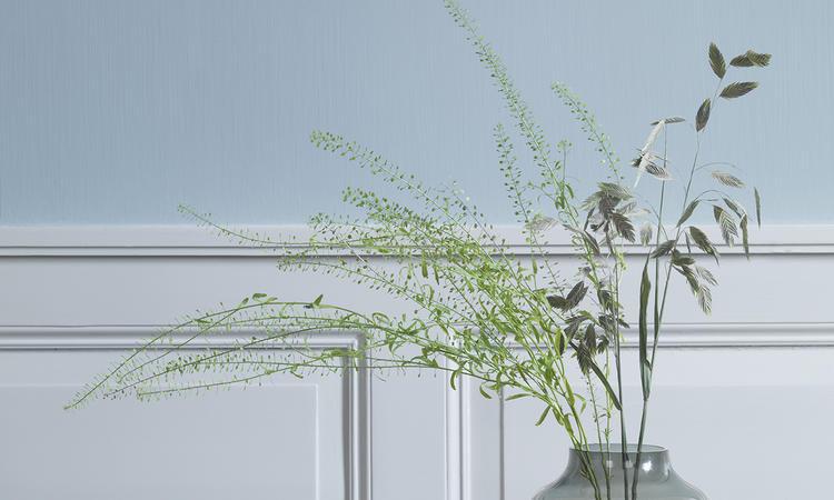 Vas med rökfärgat glas från kollektionen Objects