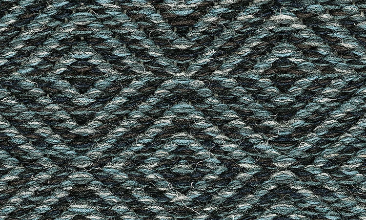 Kasthall Goose Eye Ullmatta med gåsöga i färgen Hudson 521