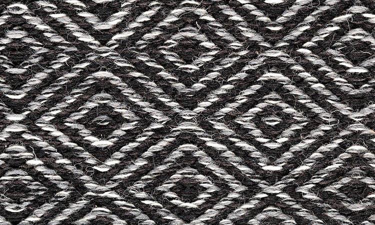 Kasthall Goose Eye Ullmatta med gåsöga i färgen Tribeca 550
