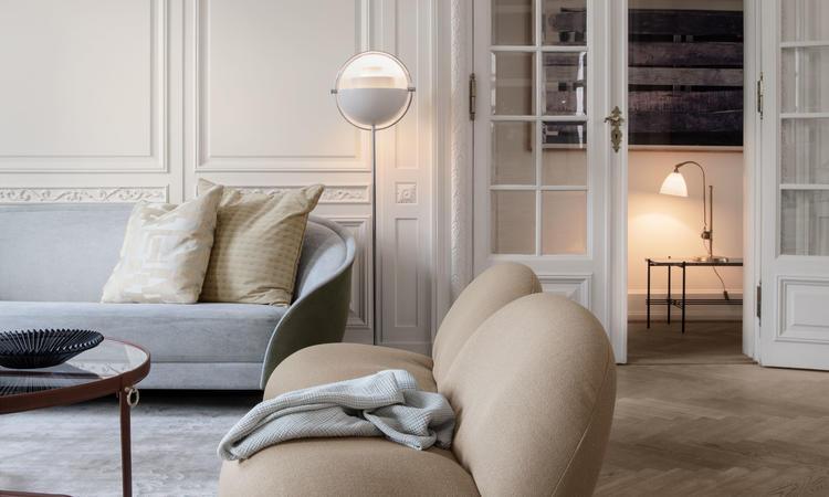 Gubi Pacha Lounge Chair av Pierre Paulin