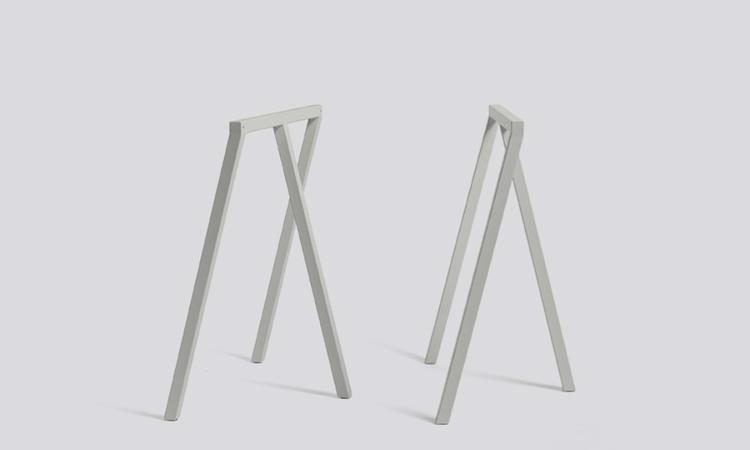 HAY Loop Stand benbockar 2-pack grå