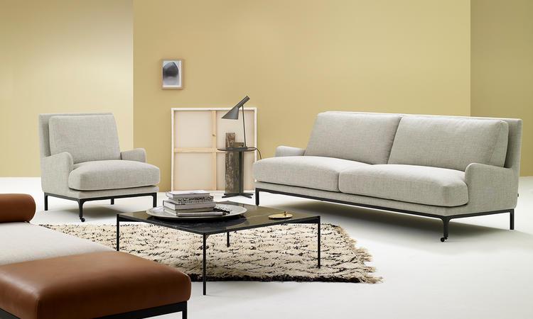 Köp Mr. Jones soffa eller fåtölj på Olsson & Gerthel med fri frakt