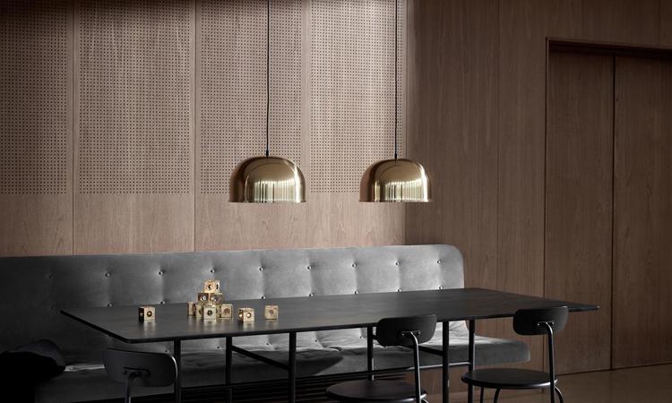 Menu Afteroom Dining Chair 3 Stol med tre ben i svart färg