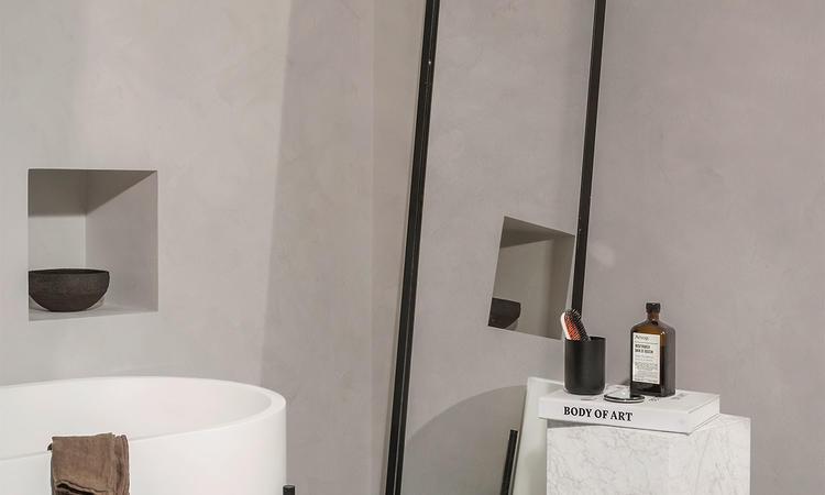 Menu Norm Floor Mirror Golvspegel Svart