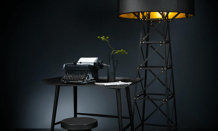 Moooi Container Stool New Antiques Black