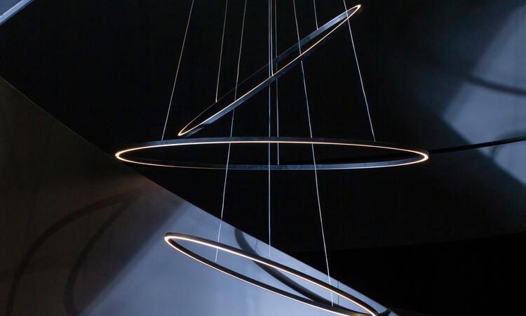 Nemo Lighting Ellisse Triple Pendel