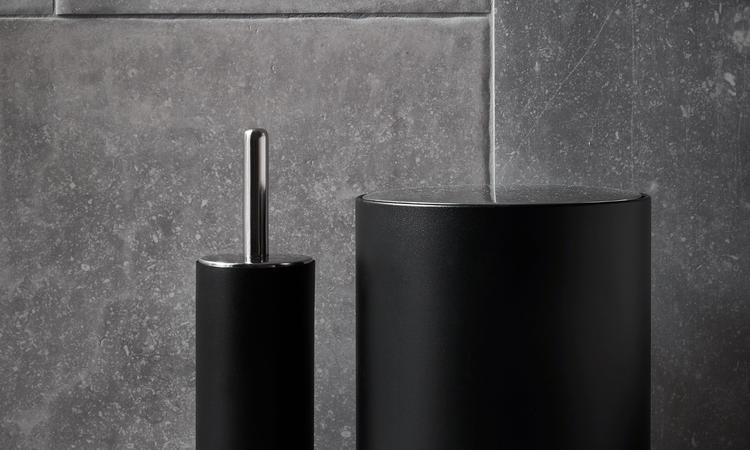 Menu Norm Bath Toilet Brush Toalettborste i svart färg