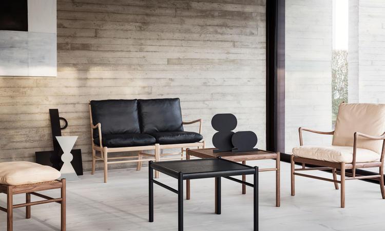 Carl Hansen & Søn OW449 Colonial Table Soffbord i ek och valnöt