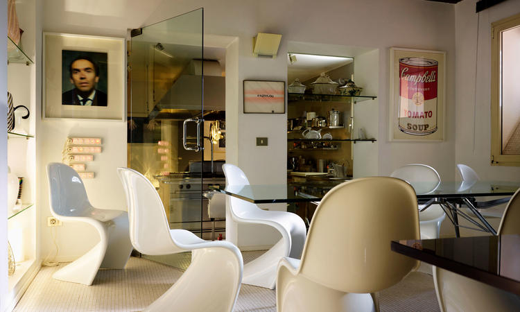 Vitra Panton Chair Classic White Stol