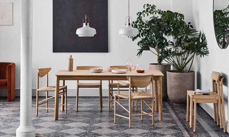 &tradition Patch HW1 Utdragbart matbord i vitoljad ek