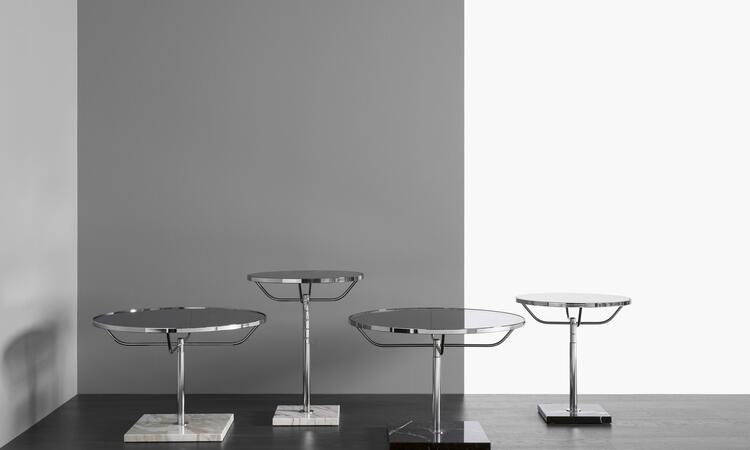 DUX Pronto XL Soffbord i svart och vit marmor