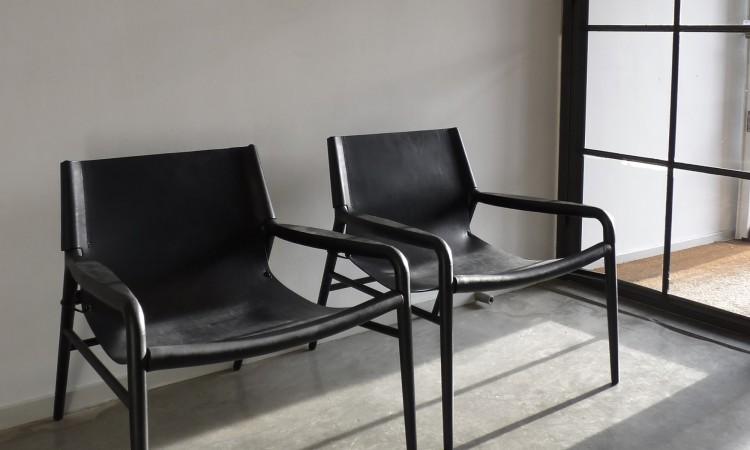 Köp skinnfåtöljen Rama Chair från OX Denmarq online på Olsson & Gerthel